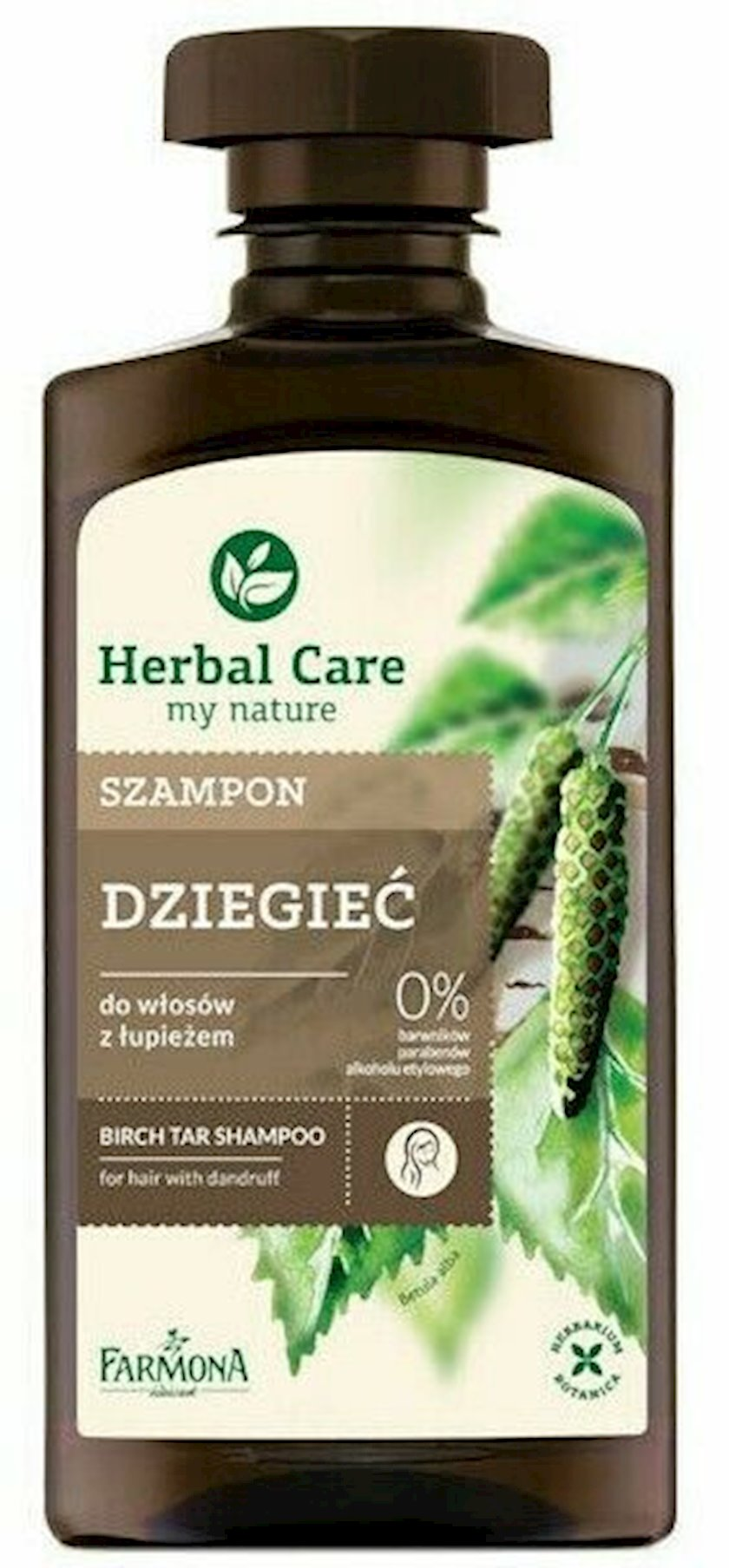 Şampun Farmona Herbal Care Tozağacı və Qatranlı 330ml