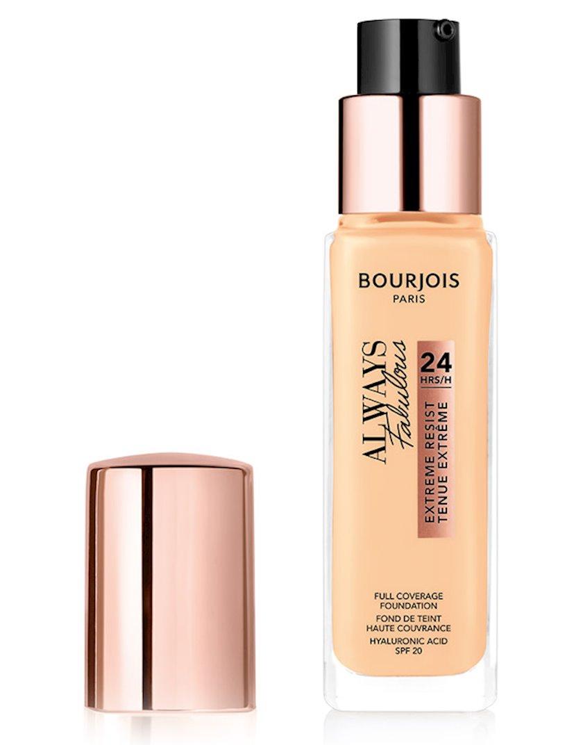 Tonal krem Bourjois Always Fabulous Full Coverage Foundation 120 Light Ivory 30 ml
