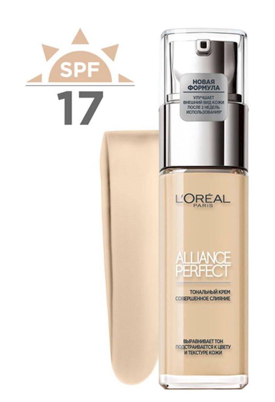 Tonal krem L'Oreal Paris Alliance Perfect 1D Açıq qızılı 30 ml