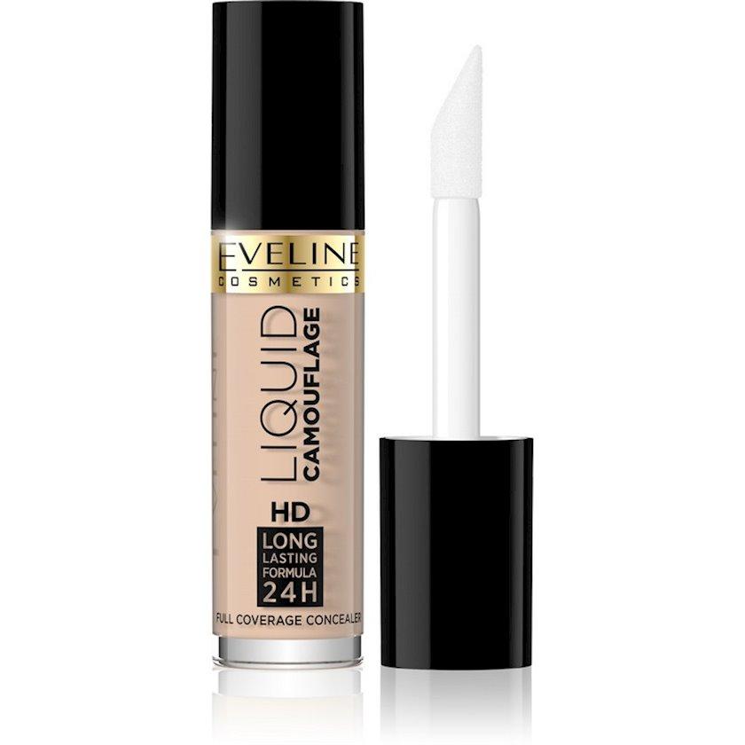 Üz üçün korrektor Eveline Cosmetics Liquid Camouflage HD Long Lasting Formula 24h №04 Light 5 ml