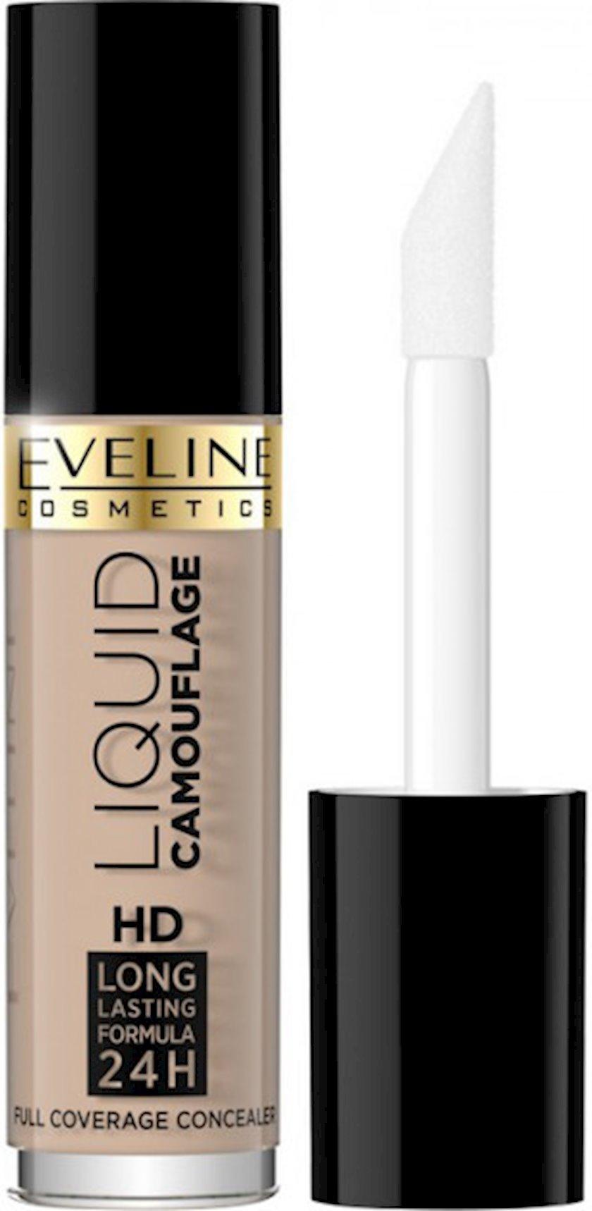 Üz üçün korrektor Eveline Cosmetics Liquid Camouflage HD Long Lasting Formula 24h №05 Porcelain 5 ml