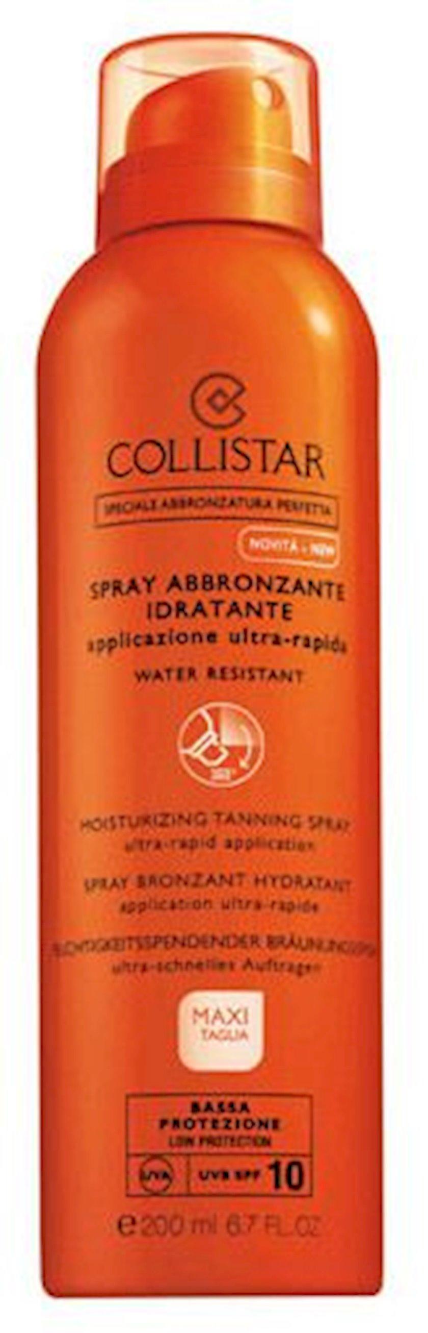 Nəmləndirici sprey qaralma üçün Collistar Moisturizing Tanning Spray SPF10 200ml