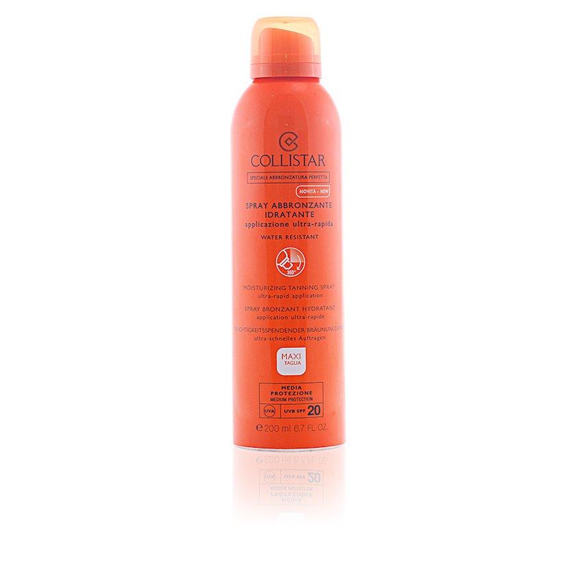 Nəmləndirici sprey qaralma üçün  Collistar Moisturizing Tanning Spray SPF20 200ml