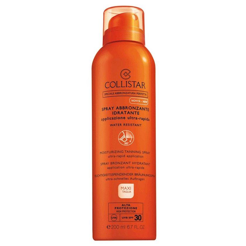 Nəmləndirici sprey qaralma üçün  Collistar Moisturizing Tanning Spray SPF30 200ml