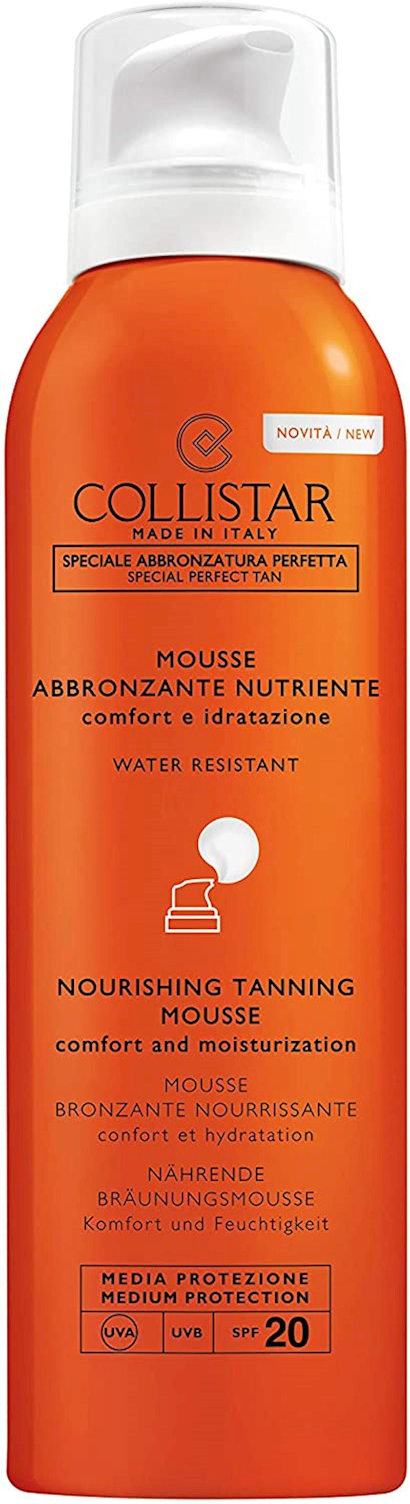 Günəşdən qoruyucu muss Collistar Abbronzante Nutriente Mousse SPF20
