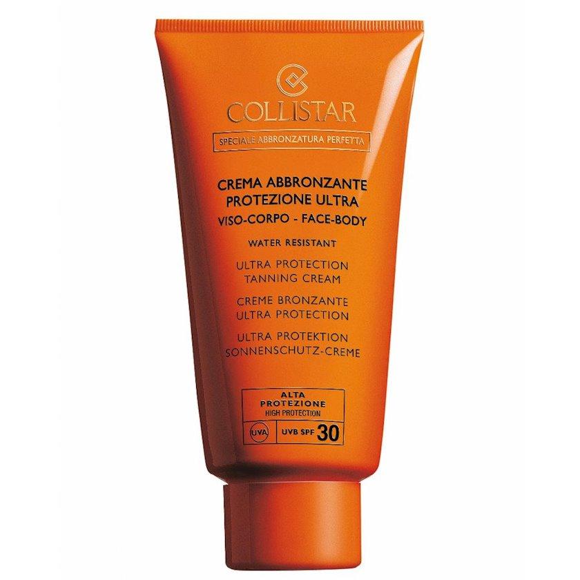 Krem qaralma üçün Collistar Ultra Protection Tanning Cream face and body SPF30