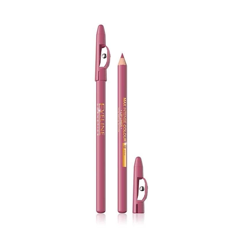 Dodaq layneri Eveline cosmetics Max intense colour 12 Pink