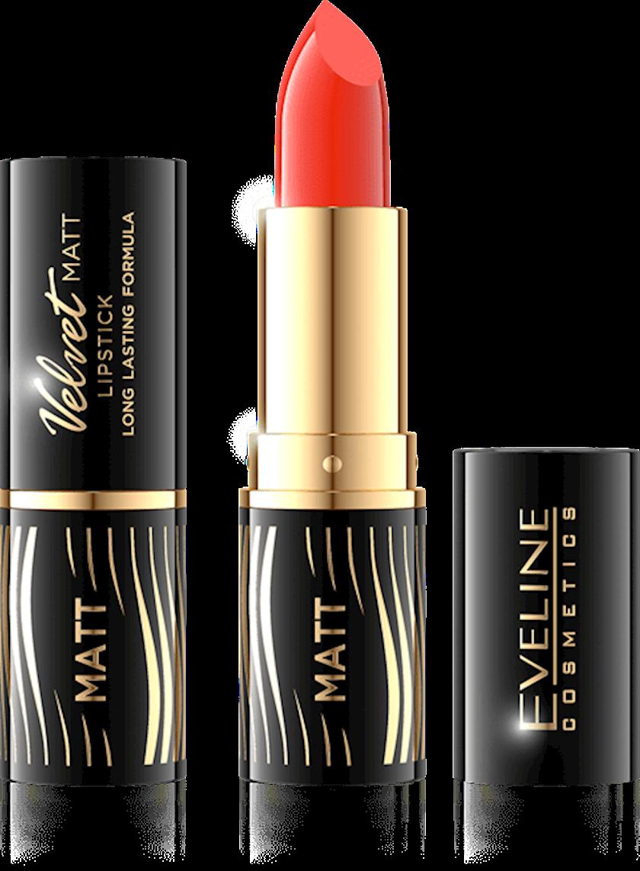 Dodaq üçün pomada Eveline Cosmetics Velvet Matt Lipstick çalar 505