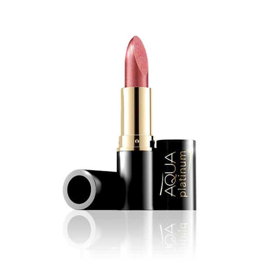 Ultra Nəmləndirici Pomada Eveline Cosmetics Aqua Platinum Lipstick çalar 430