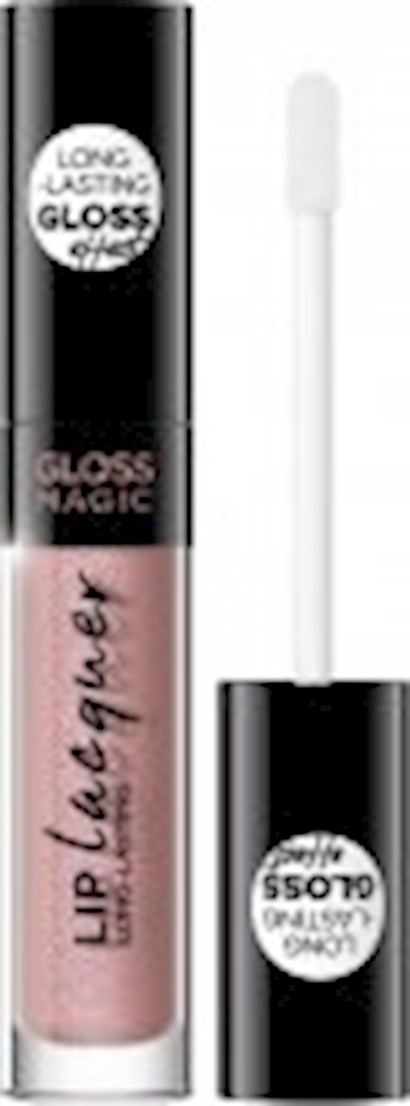 Dodaq üçün maye pomada  Eveline Gloss Magic Lip Lacquer 25 Coral Reef