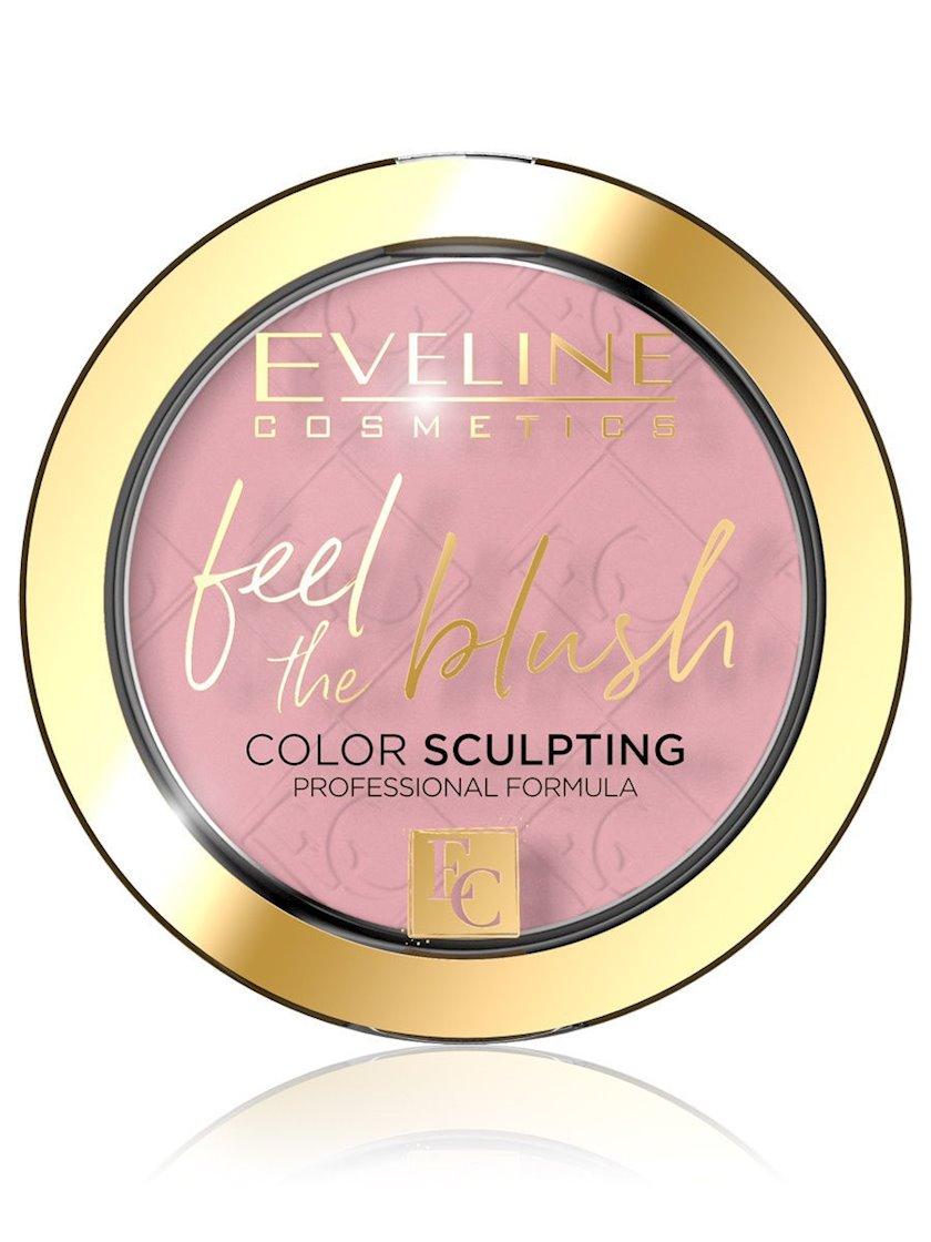 Üz üçün ənlik Eveline Feel The Blush, 01 Peony