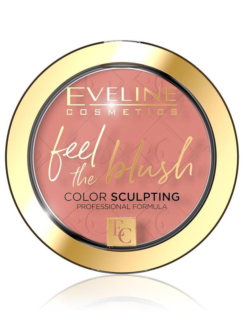Üz üçün ənlik Eveline Feel The Blush, 04 Tea Rose