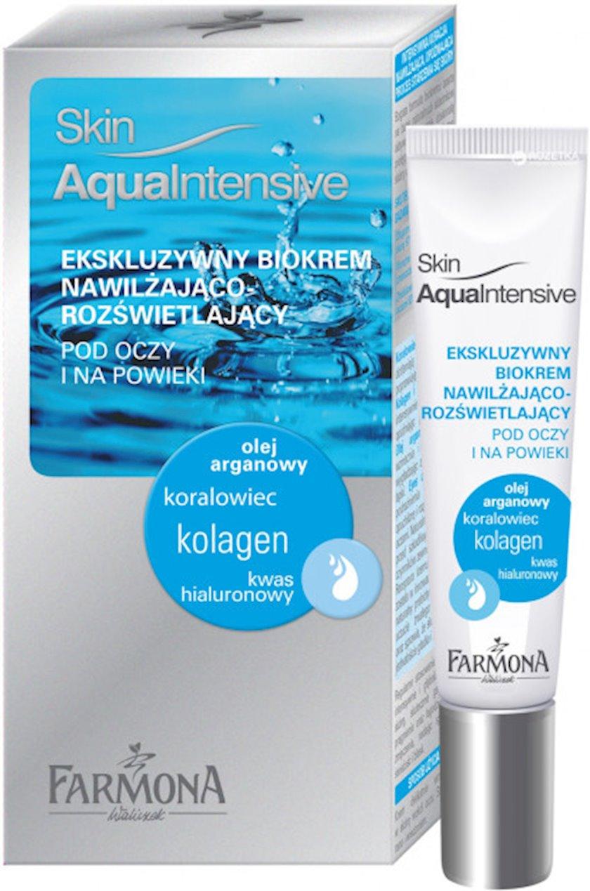 Bio-krem göz ətrafı qırışlara qarşı Farmona Skin Aqua Intensive