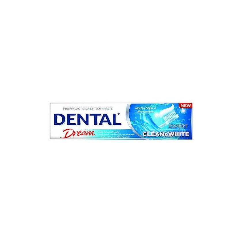 "Diş pastası  ""Чистота и белизна"" Dental Dream Expert Clean & White"