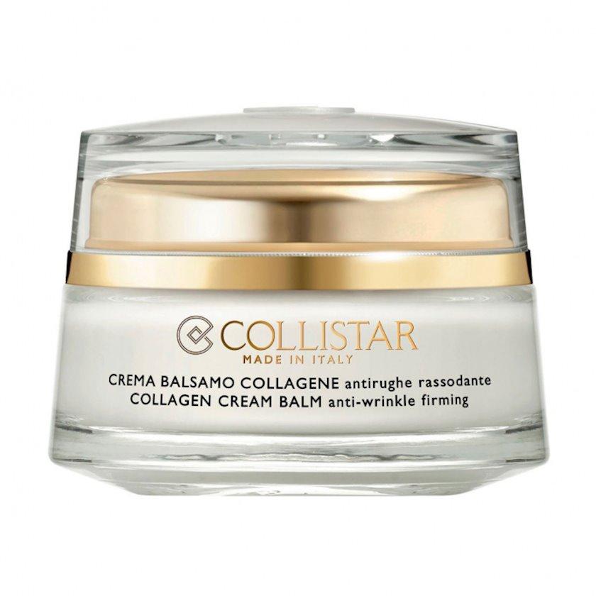 Üz üçün krem balzam Collistar pure actives collagen cream balm