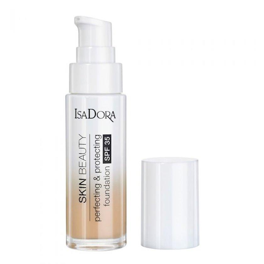 Tonal krem IsaDora Skin Beauty Perfecting & Protecting SPF35 ton 06 Natural beige 30 ml