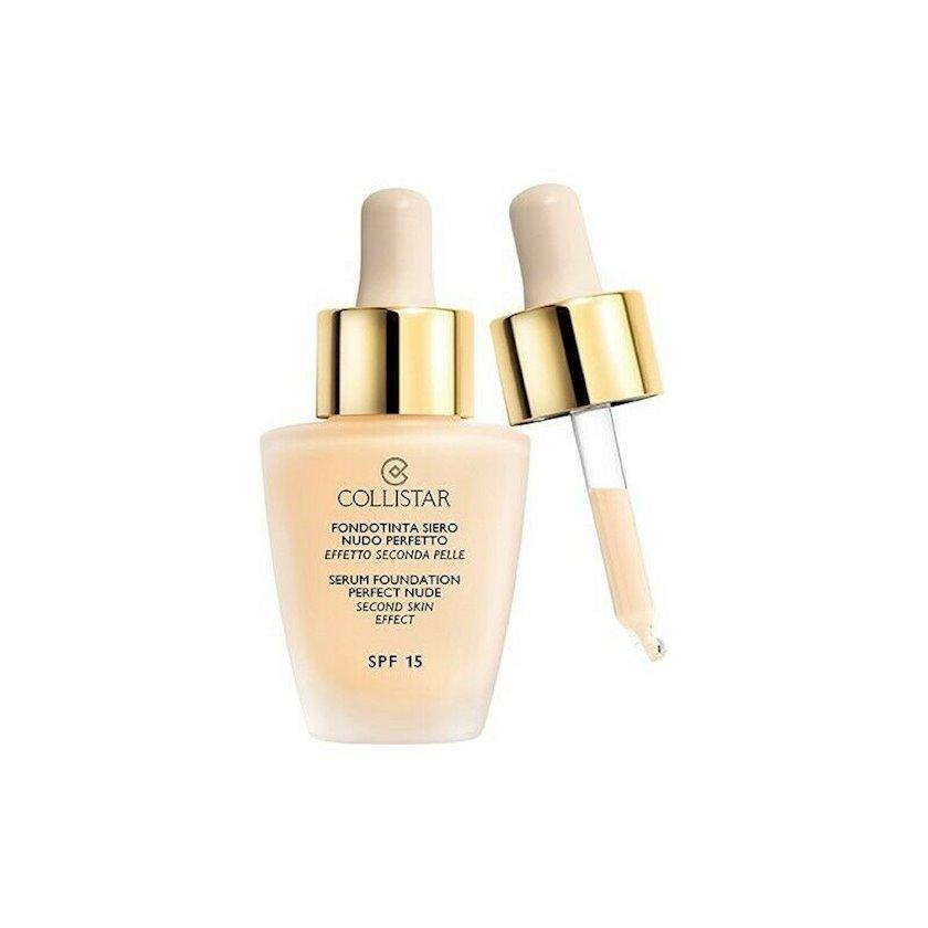 Tonal krem Collistar Serum Foundation Perfect Nude SPF 15  ton 1 Ivory 30 ml