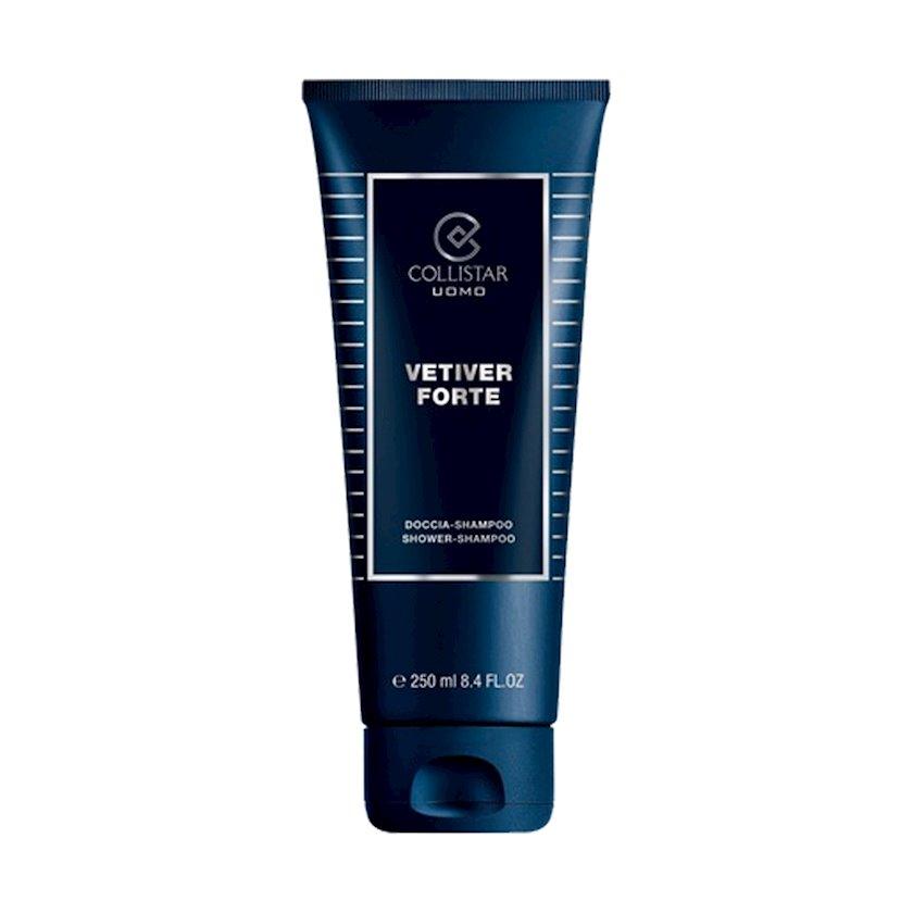 Duş geli və şampun Collistar Vetiver Forte 250 ml