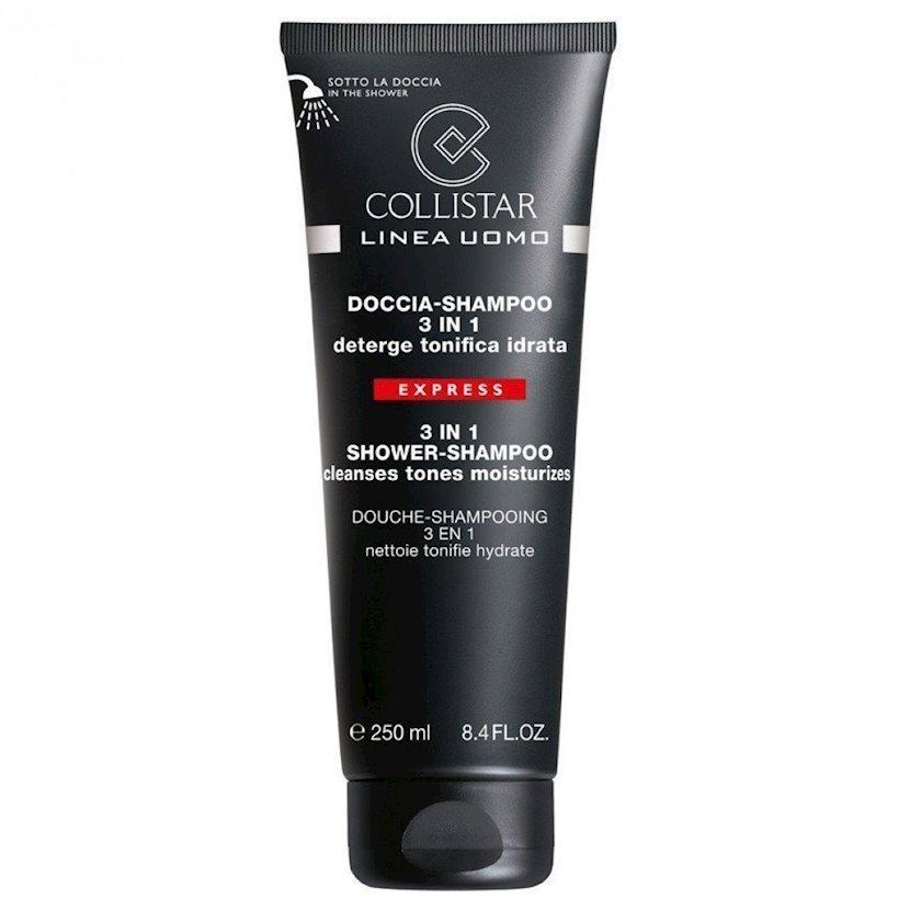Gel-şampun Collistar 3-də1 Shower-Shampoo 250 ml