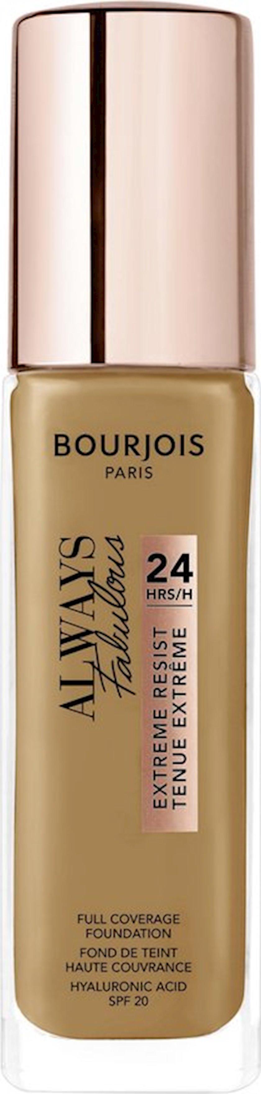 Tonal baza Bourjois Always Fabulous 24H Extreme Resist SPF20 ton 520 30 ml