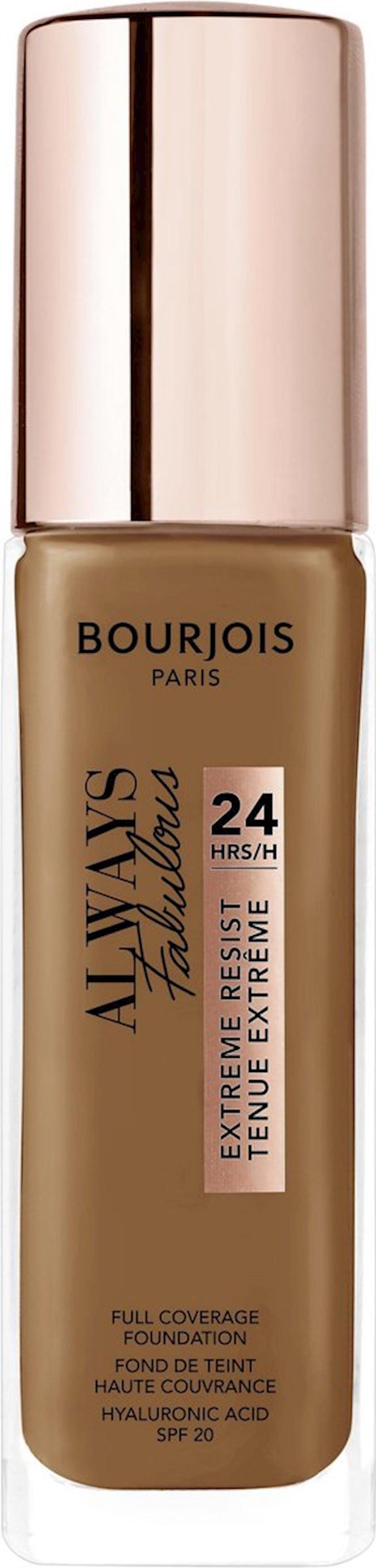Tonal baza Bourjois Always Fabulous 24H Extreme Resist SPF20 ton 600 30 ml