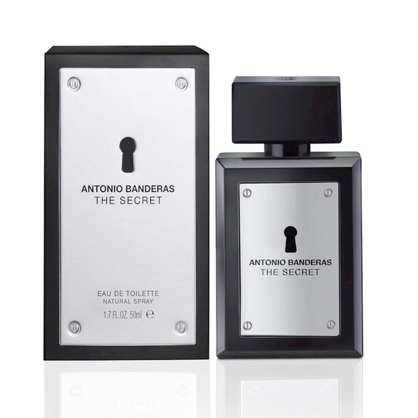 Kişilər üçün tualet suyu Antonio Banderas The Secret 50 ml