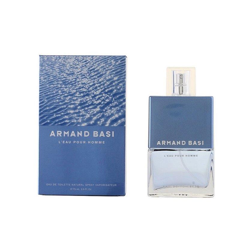 Kişilər üçün tualet suyu Armand Basi L'Eau Pour Homme 75 ml