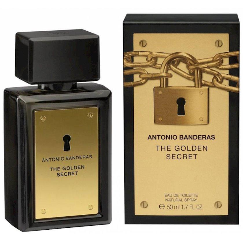 Kişilər üçün tualet suyu Antonio Banderas Golden Secret 50 ml