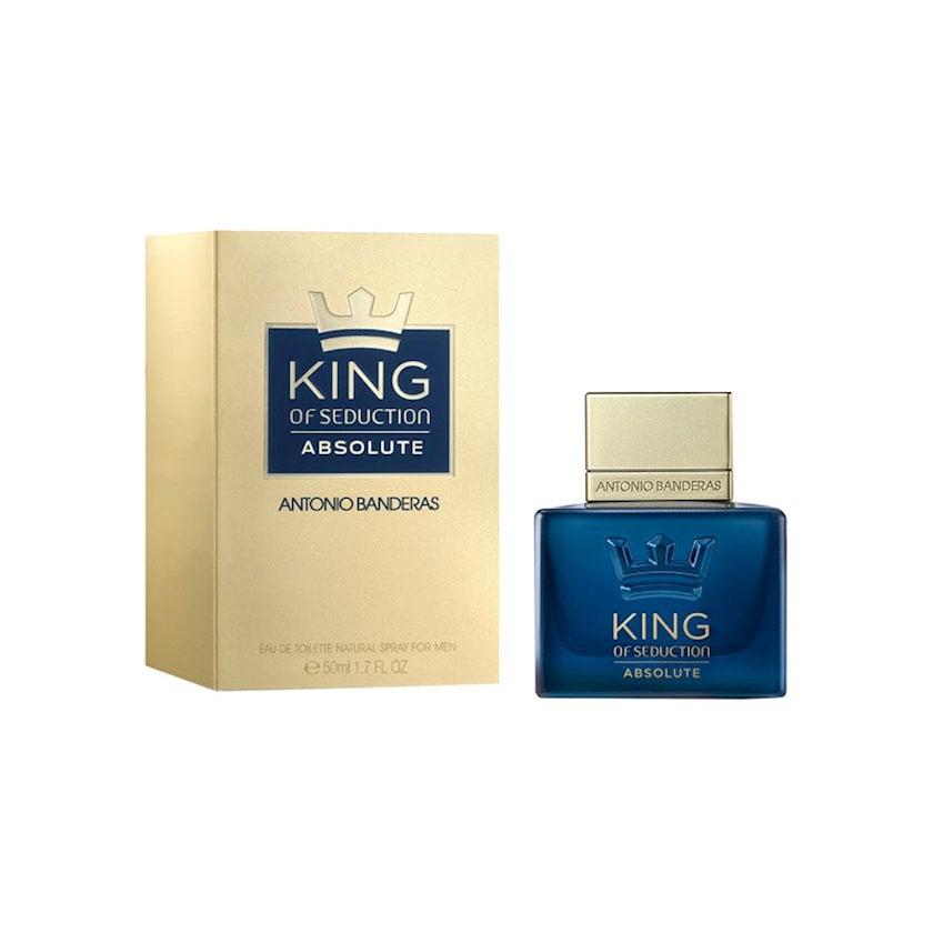 Kişilər üçün tualet suyu Antonio Banderas King of Seduction Absolute 50 ml