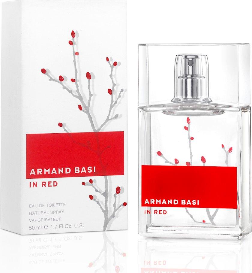 Qadınlar üçün tualet suyu Armand Basi In Red 50 ml