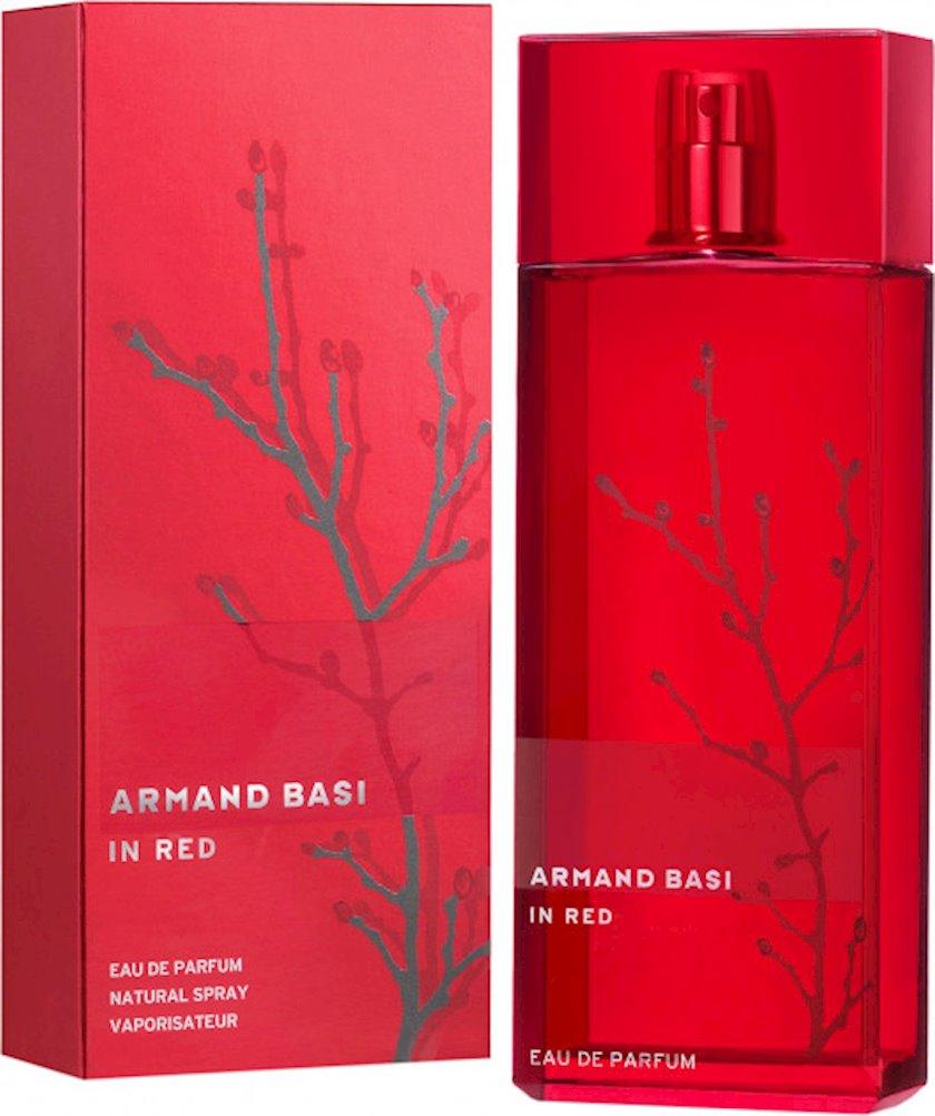Qadınlar üçün ətir suyu Armand Basi In Red 100ml
