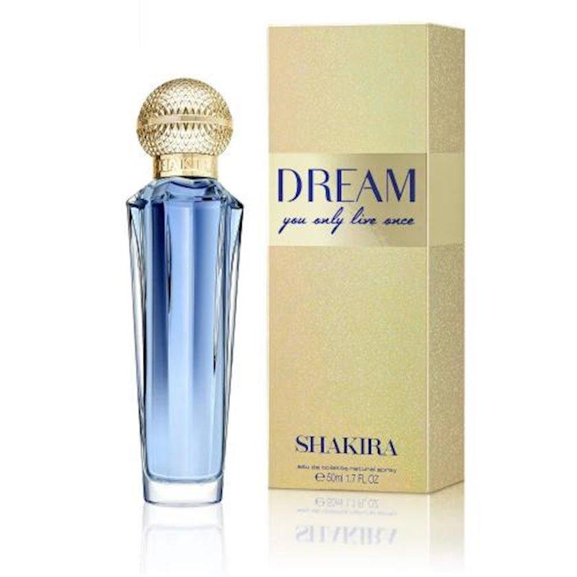 Qadınlar üçün tualet suyu Shakira Dream 50 ml