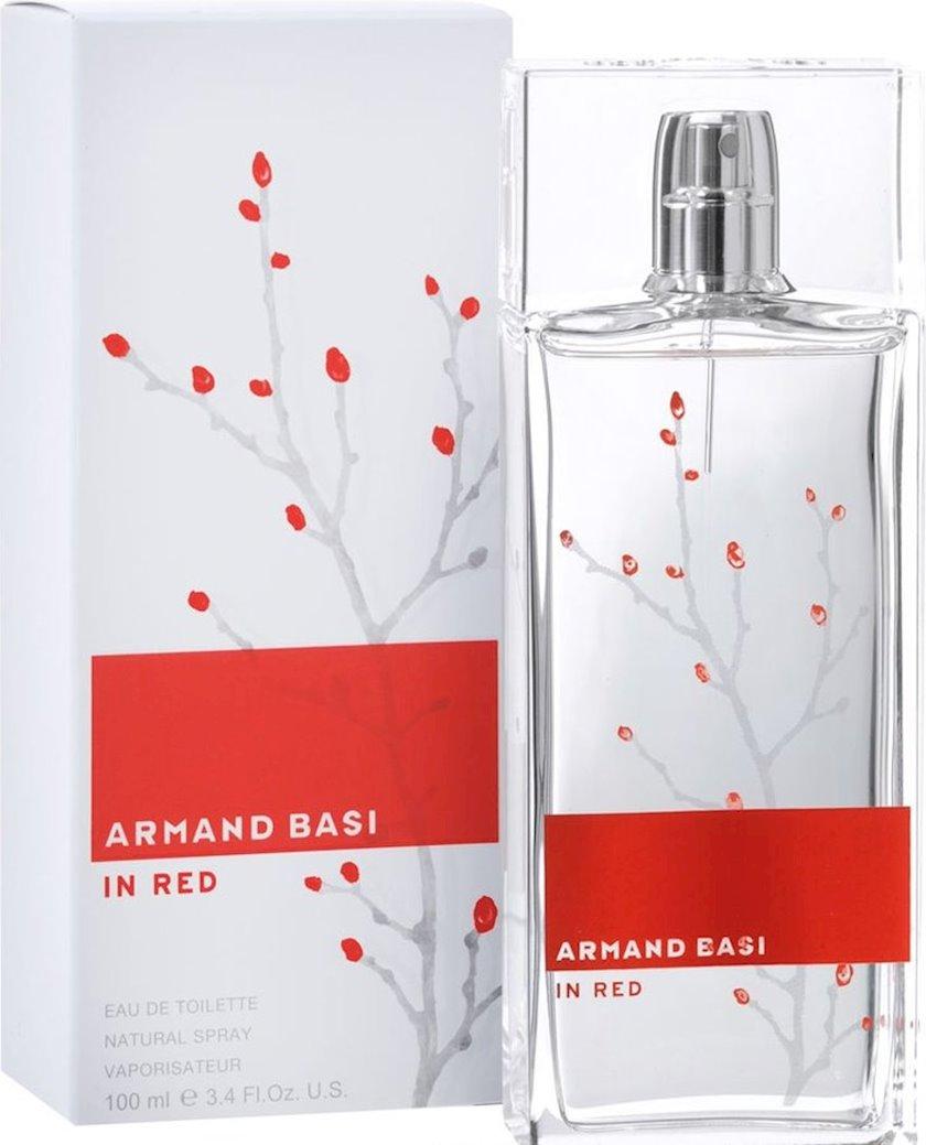 Qadınlar üçün tualet suyu Armand Basi In Red 100 ml