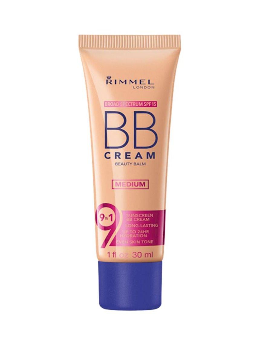 BB-krem Rimmel 9-1-də Skin Perfecting Super Makeup SPF15 ton 002 Medium 30 ml