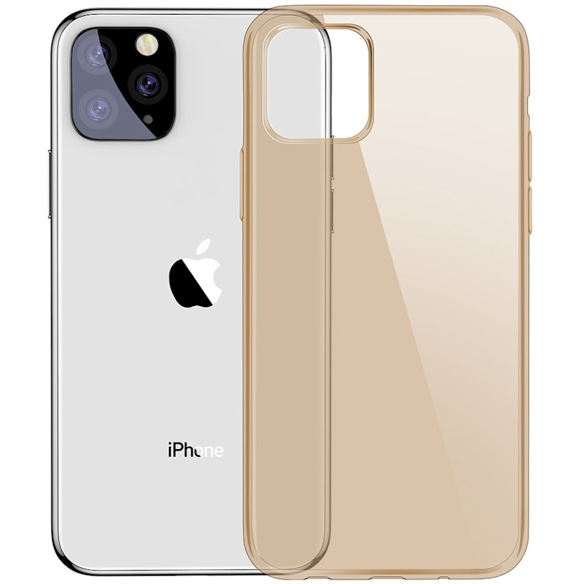 Çexol Baseus Simplicity Series Apple iPhone 11 Pro Max üçün Gold