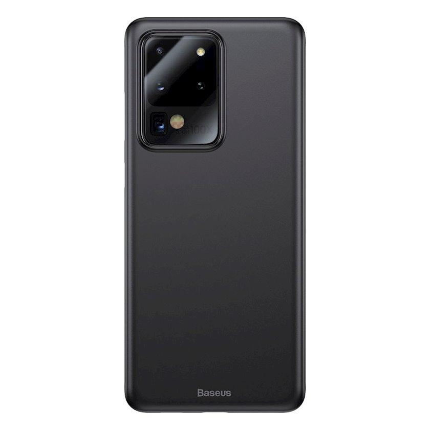 Çexol Baseus Wing Çexol  Samsung S20 ultra üçün Black