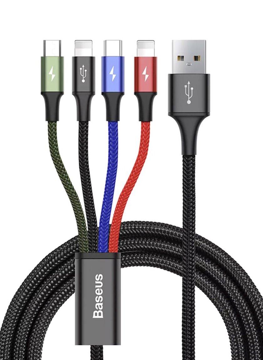 Kabel Baseus Fast 4-ü 1-də