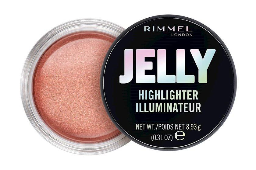 Üz üçün haylayter Rimmel Jelly Highlighter 20 Candy Queen 8.93q