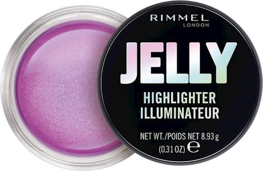 Üz üçün haylayter Rimmel Jelly Highlighter 30 Flamingo 8.93q