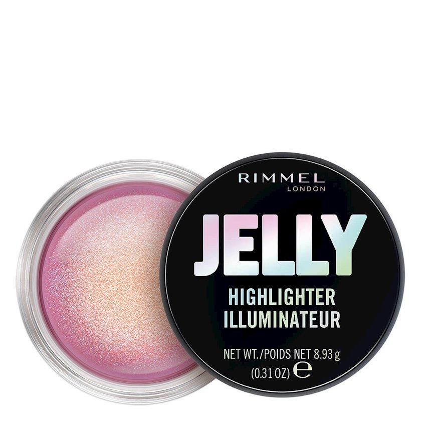 Üz üçün haylayter Rimmel Jelly Highlighter 40 Shifty Shimmer 8.93q