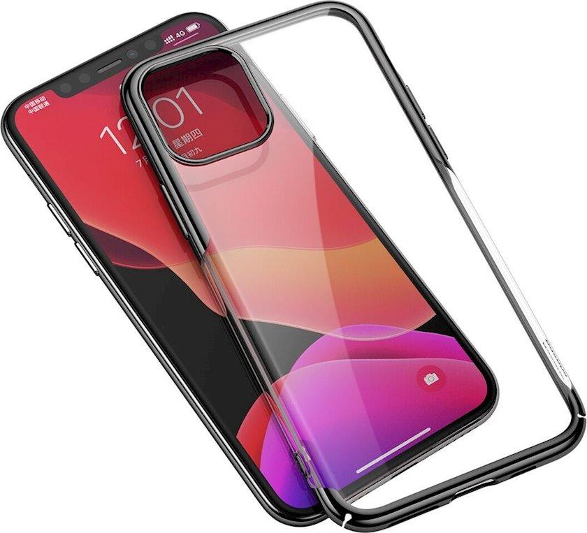 Çexol smartfon üçün Baseus Glitter Apple iPhone 11 Pro Black