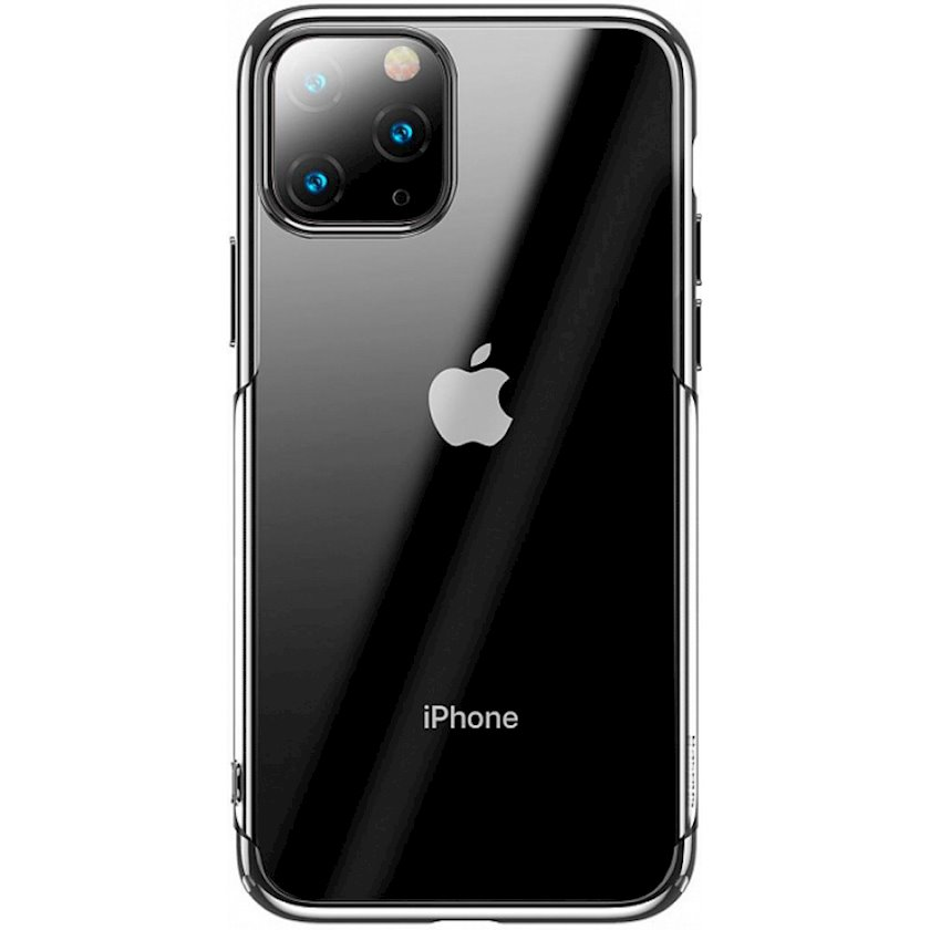 Çexol Baseus Glitter Apple iPhone 11 Pro Silver üçün