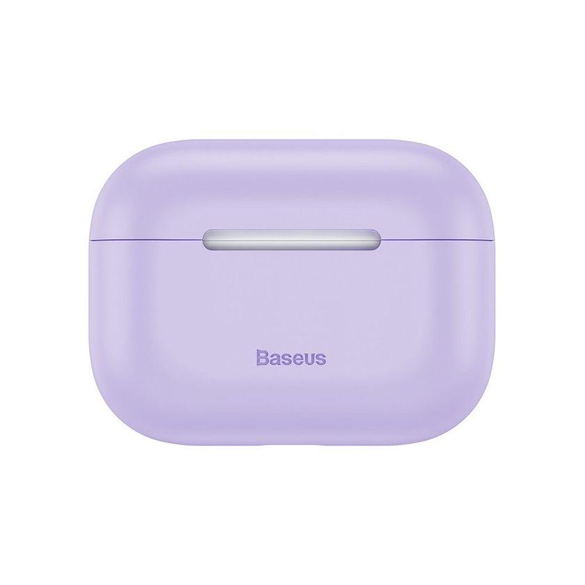 Çexol qulaqlıqlar üçün Baseus Super Thin Purple Apple Airpods Pro