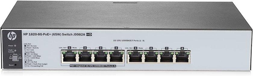 Kommutator HP 1820-8G-PoE+ (65W) Switch