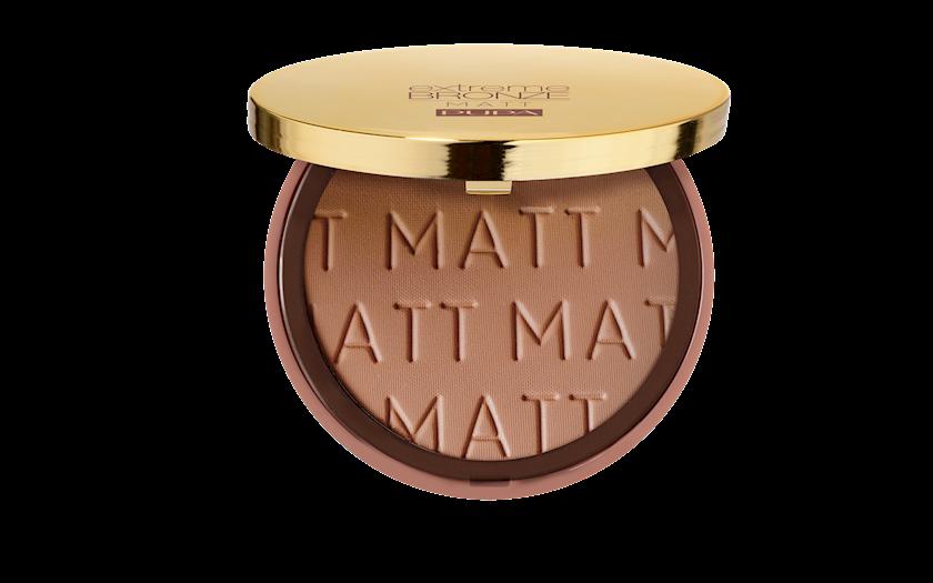 Kompakt kirşan Pupa Extreme bürünc Mat Powder № 001