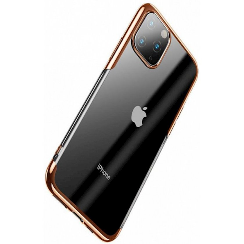 Çexol Baseus ARAPIPH65S-MD0V Shining Case  iPhone 11 Pro Max, qızılı