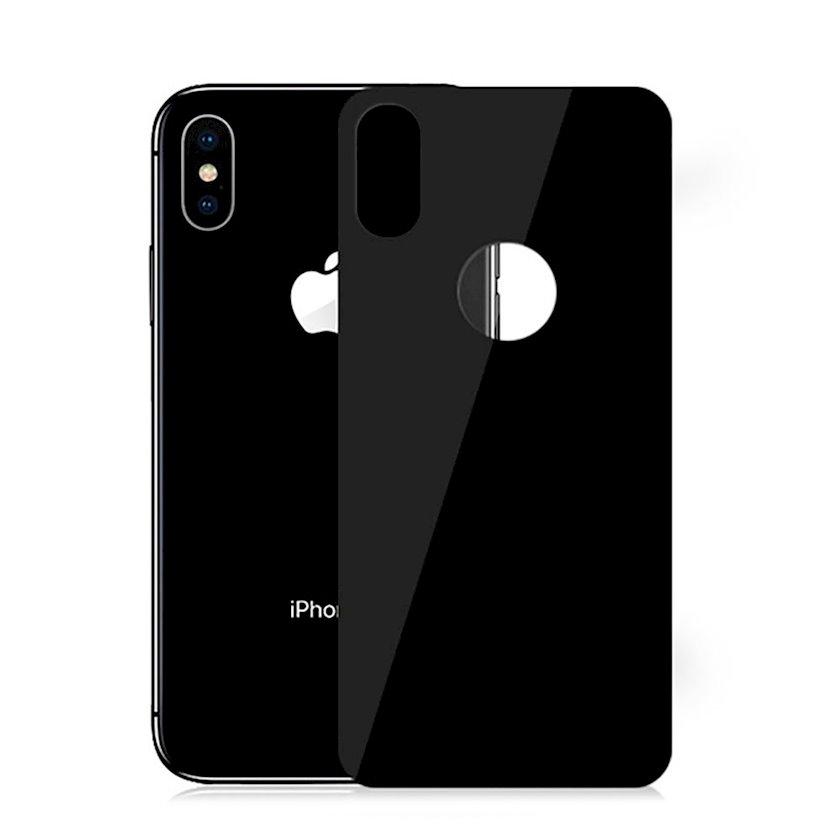 Qoruyucu şüşə Baseus Full coverage curved tempered glass rear protector Sgapiph65-bm01 Apple iPhone XS Max üçün, qara