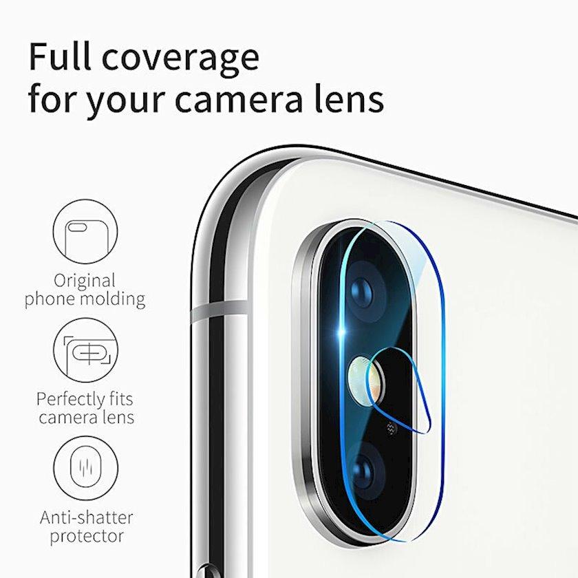 Qoruyucu şüşə kamera üçün Baseus Camera lens glass film Transparent Sgapiphx-jt02 Apple iPhone X/XS/XS Max üçün