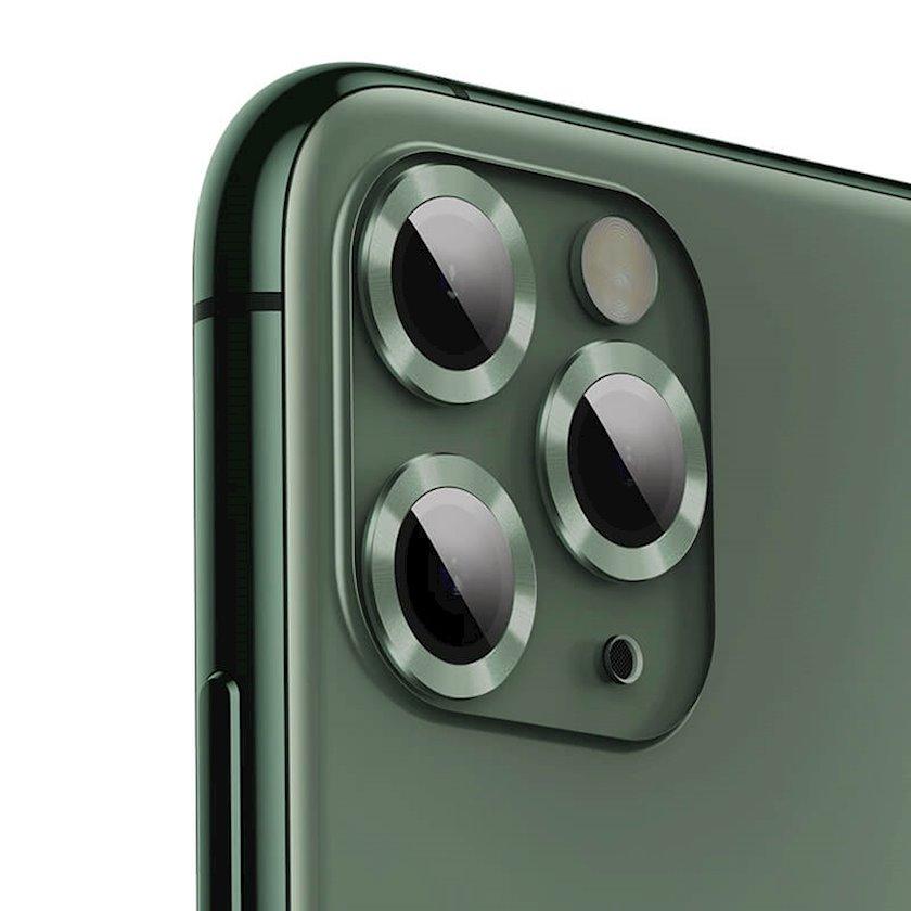 Qoruyucu şüşə Baseus Alloy protection ring lens film Sgapiph58s-ajt06 Apple iPhone 11 Pro üçün