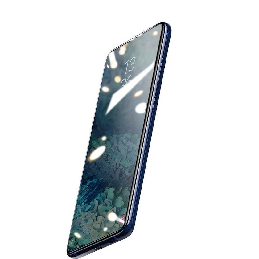 Qoruyucu şüşə Baseus 0.25 mm Curved-screen UV Tempered Glass Screen Protector Samsung Galaxy S20 Ultra Plus üçün